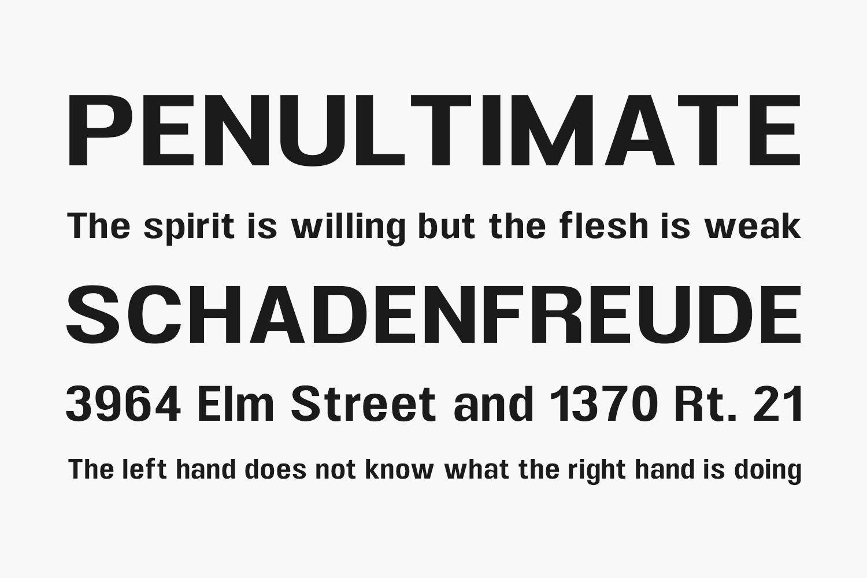 UFont Free Font