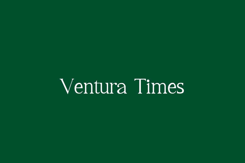 Ventura Times Free Font