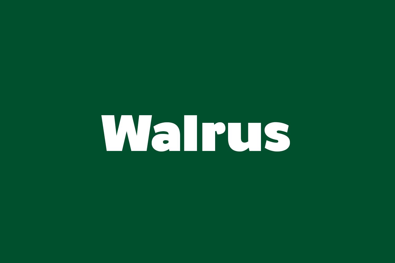 Walrus Free Font