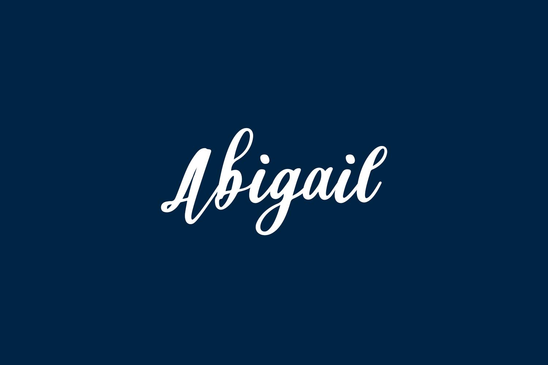 Abigail Free Font