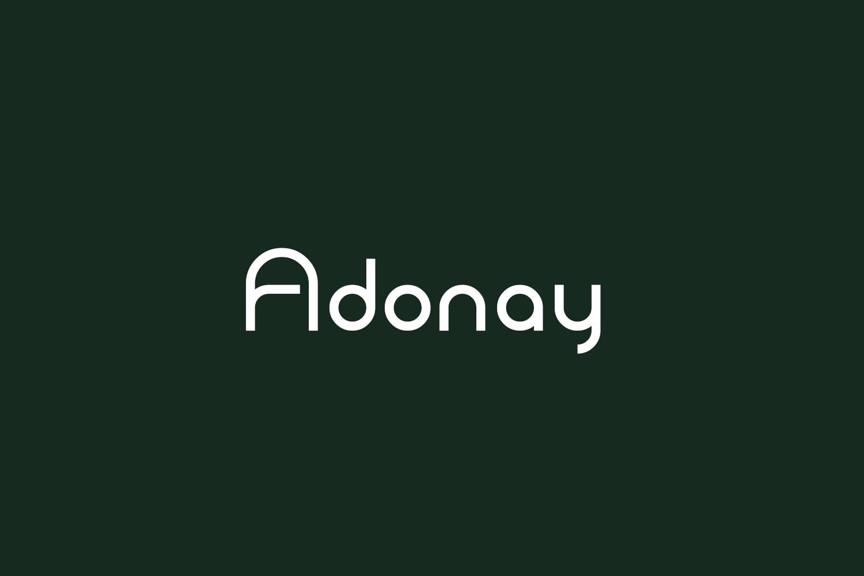 Adonay Free Font