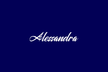 Alessandra Free Font
