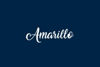 Amarillo Free Font