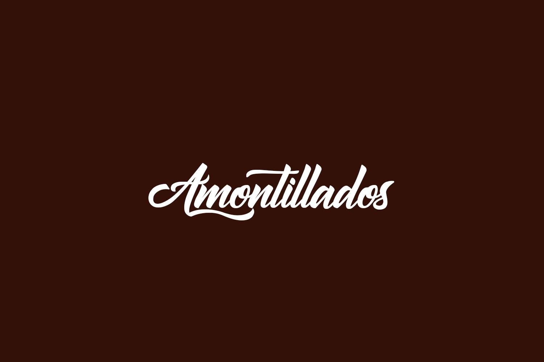 Amontillados Free Font