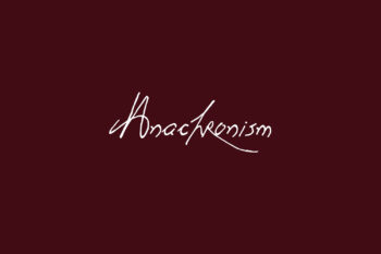 Anachronism Free Font