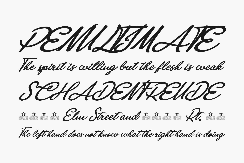 Anastasia Script Free Font