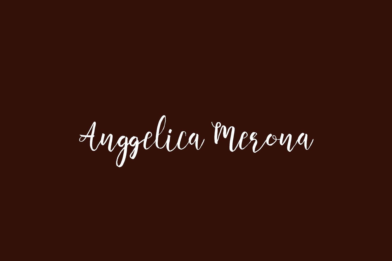Anggelica Merona Free Font
