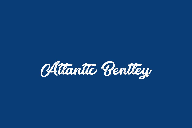 Atlantic Bentley Free Font