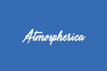 Atmospherica Free Font