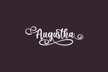 Augustha Free Font