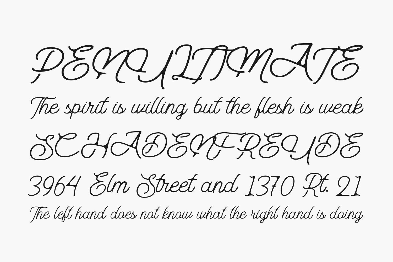 Aurelig Free Font
