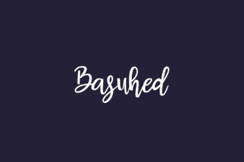 Basuhed Free Font
