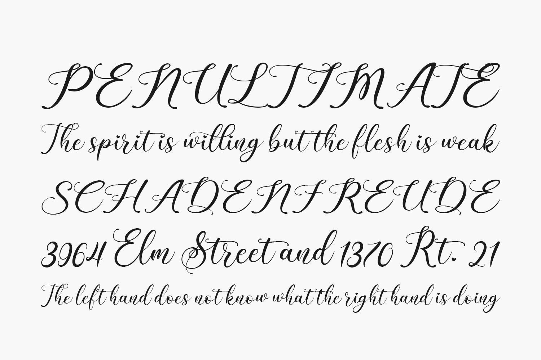 Beauty Gadish Free Font