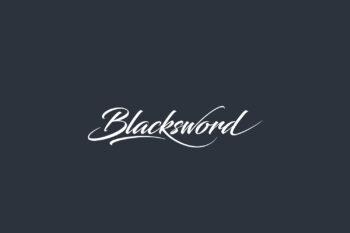 Blacksword Free Font