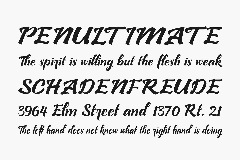 Bllastt Free Font