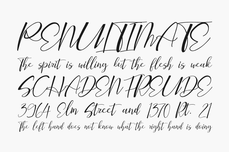 Bqtrack Script Free Font