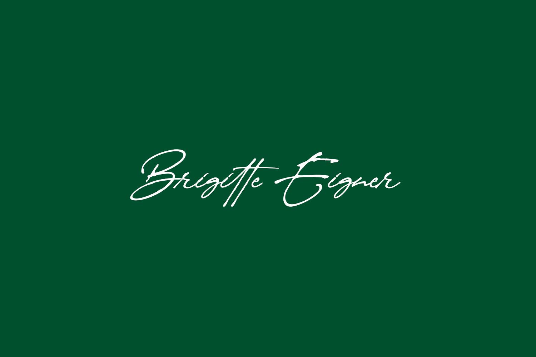 Brigitte Eigner Free Font