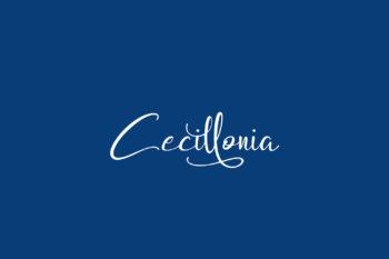 Cecillonia Free Font