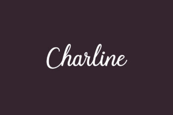 Charline Free Font