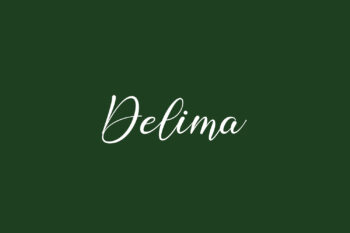 Delima Free Font