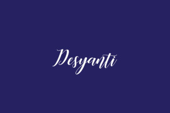Desyanti Free Font