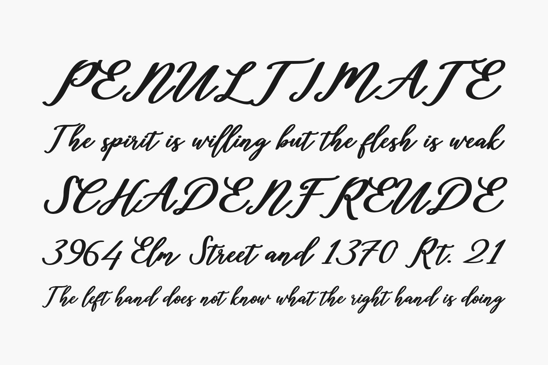 Diantha Free Font