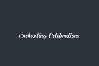 Enchanting Celebrations Free Font