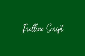 Frelline Script Free Font