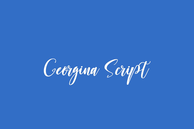 Georgina Script Free Font