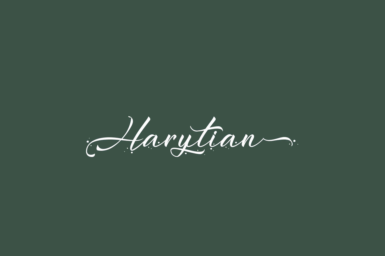 Harytian Free Font