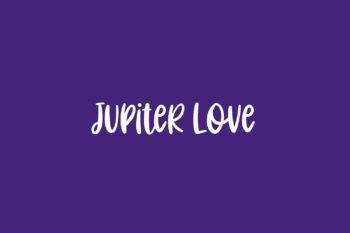 Jupiter Love Free Font