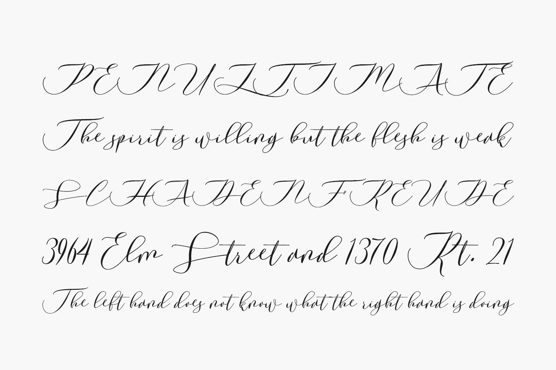 Laurretta Free Font