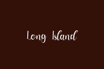 Long Island Free Font