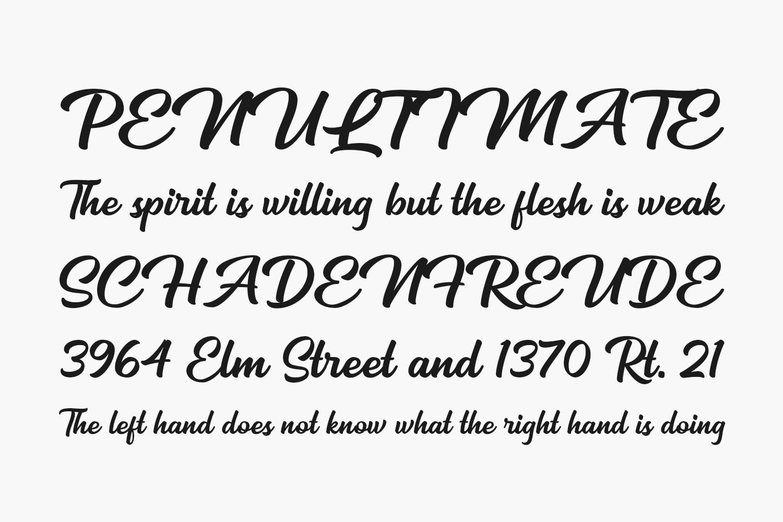 Mackless Script Free Font