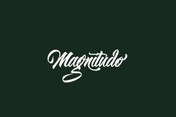 Magnitudo Free Font