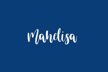 Mahelisa Free Font