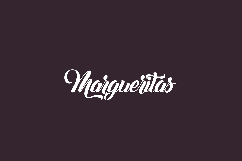 Margueritas Free Font