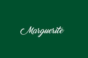 Marguerite Free Font