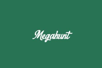 Megahunt Free Font