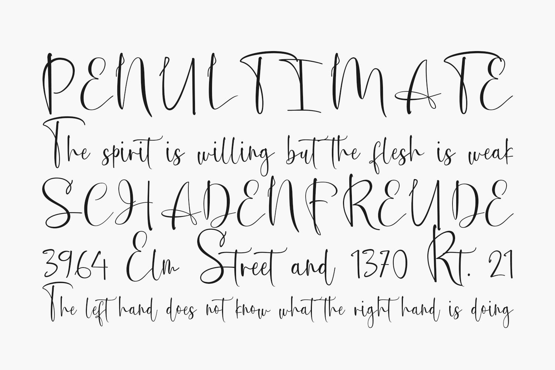 Melistoria Free Font