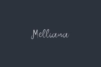 Melliana Free Font