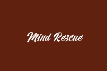 Mind Rescue Free Font