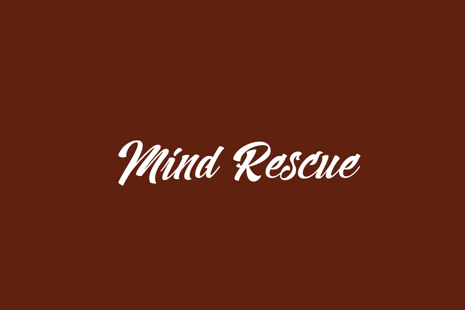 Mind Rescue Free Font