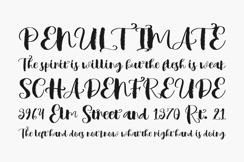 Mindset Free Font