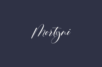 Mortyni Free Font