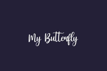 My Butterfly Free Font