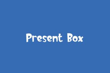 Present Box Free Font