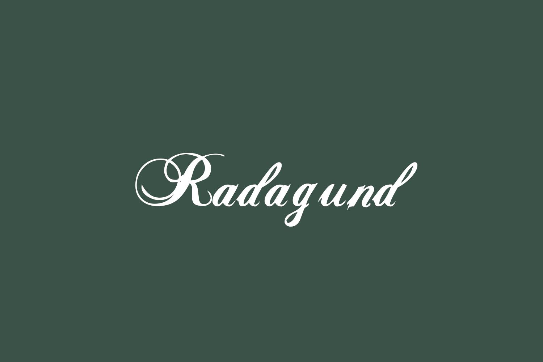 Radagund Free Font