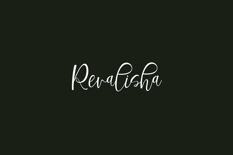 Revalisha Free Font