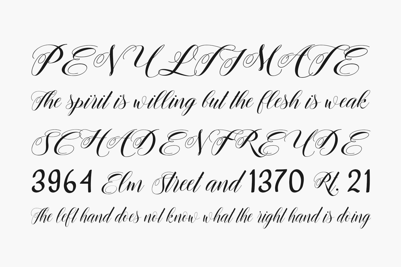 Rosenesya Free Font